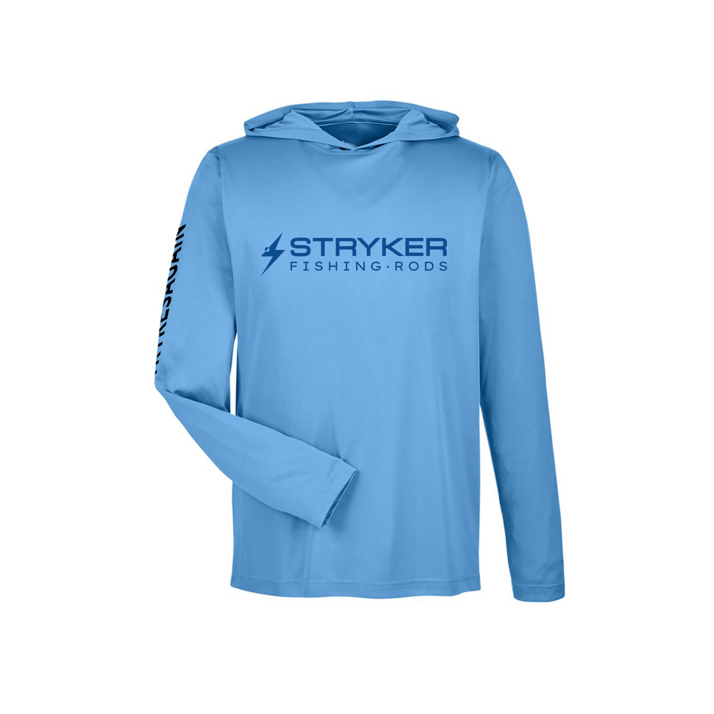 Performance SPF Men's Hoodie – Sport Blue