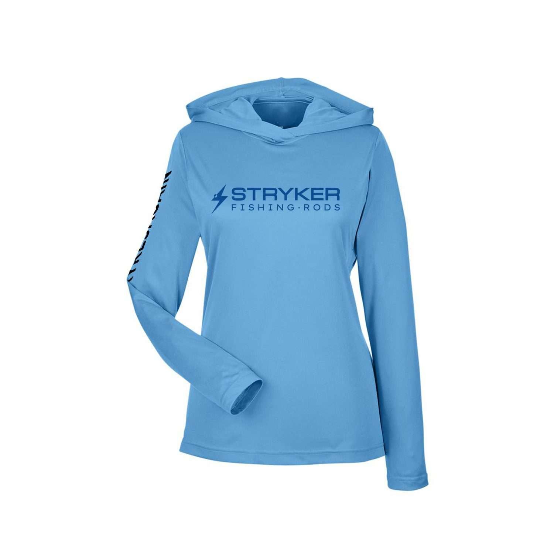 Performance SPF Women's Hoodie – Sport Blue